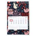 Kalendarz - jednodzielny z kaszerowaną główką już od 50 szt.